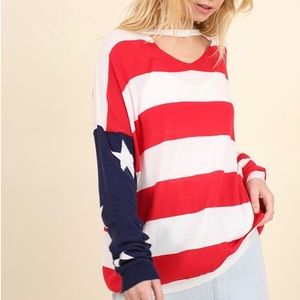 Sweaters - 🔥 American rules flag sweater